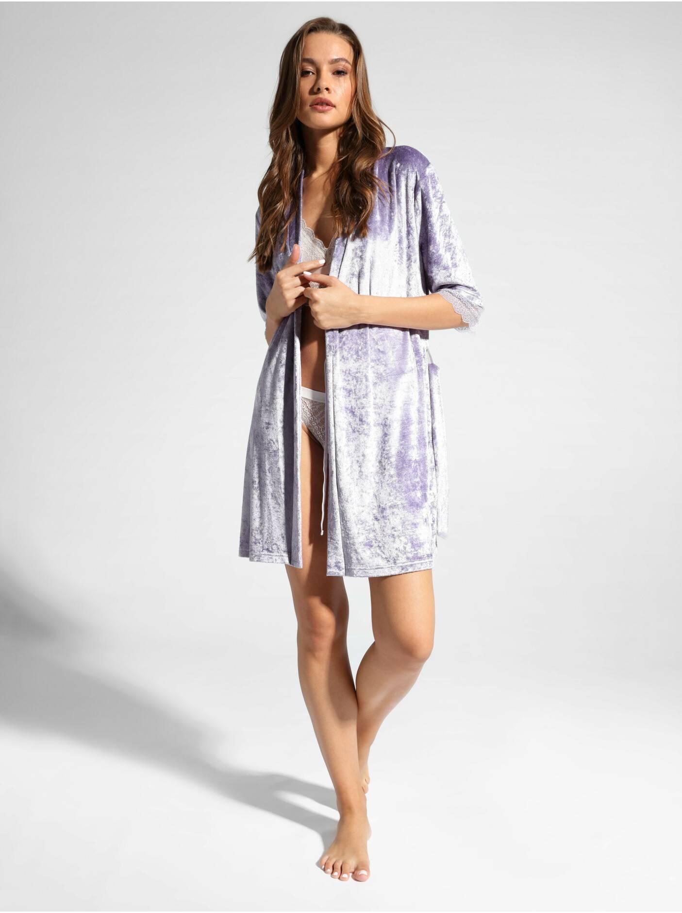 Velour Bathrobe For Home Velvet Loungewear Lhw 1006 Official Online Store Conte