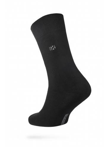 men's socks COMFORT (terry) 7С-24СП, размер 25, цвет black