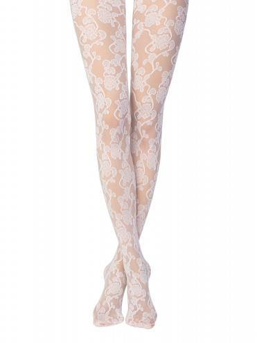women's polyamide tights KELLY 13С-13СП, размер 4, цвет bianco