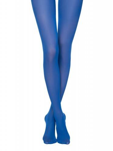 women's polyamide tights COLOURS TOP 8С-24СП, размер 2, цвет blue