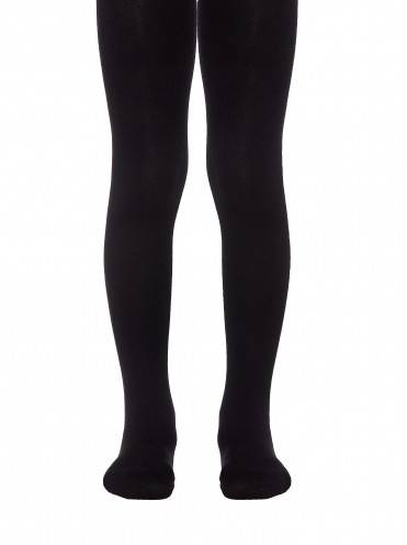 Children's cotton tights TIP-TOP 4С-03СП, размер 104-110 (16), цвет black