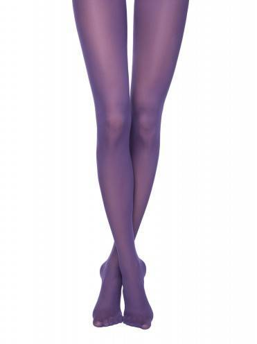 women's polyamide tights COLOURS TOP 8С-24СП, размер 2, цвет violet
