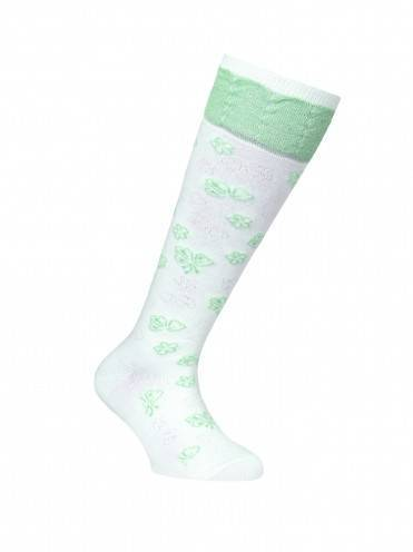 Children's cotton knee-highs TIP-TOP (lurex) 7С-71СП, размер 20, цвет lettuce green