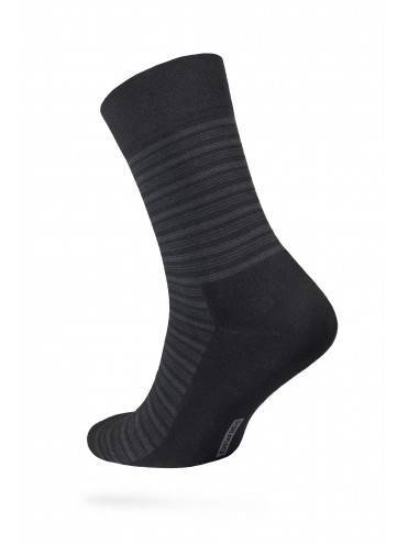 Men's socks COMFORT (terry foot) 6С-18СП, размер 25, цвет black