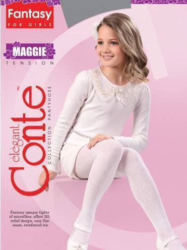 Children's polyamide tights MAGGIE 14С-10СП, размер 104-110, цвет marino