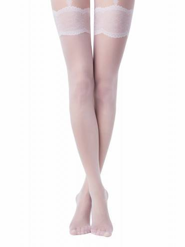 women's polyamide tights SENSUALE 15С-53СП, размер 2, цвет panna