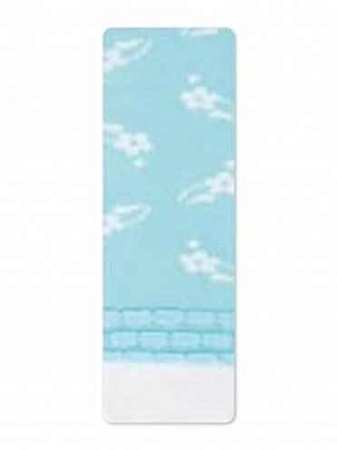 Children's cotton tights TIP-TOP (picot) 7С-73СП, размер 92-98 (14), цвет light blue