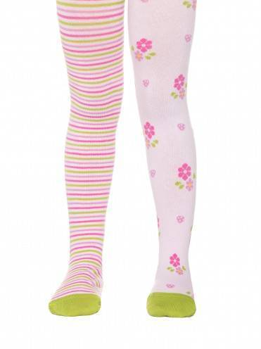 children's cotton tights TIP-TOP (cheerful legs) 14С-79СП, размер 62-74 (12),цвет light pink