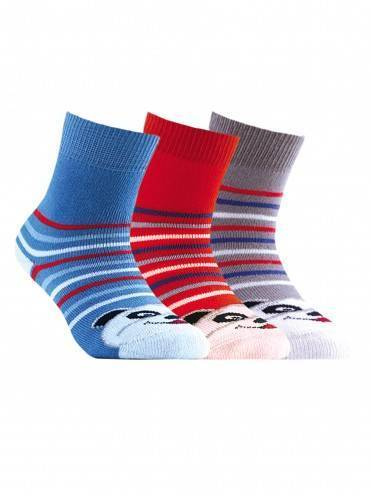 Children's cotton socks SOF-TIKI (terry) 7С-46СП, размер 12, цвет grey