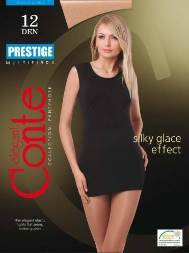 women's polyamide tights PRESTIGE 12 8С-59СП, размер 2, цвет natural