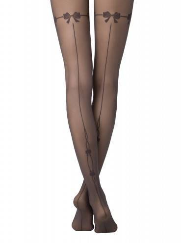 women's polyamide tights MISTERY 14С-45СП, размер 2, цвет grafit