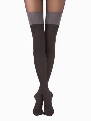 women's polyamide tights TWICE 14С-97СП, размер 2, цвет nero