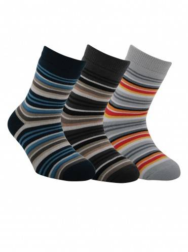 children's cotton socks SOF-TIKI (terry) 7С-46СП, размер 16, цвет grey