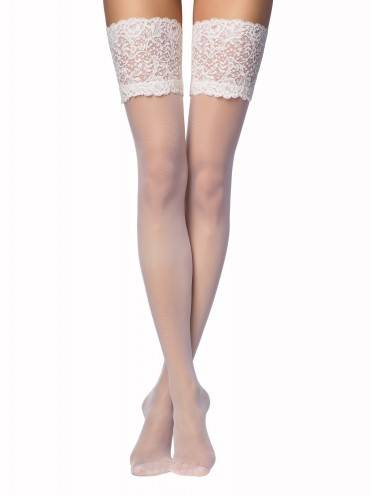 women's stockings AMORE 15С-55СП, размер 23-25 (1-2), цвет panna