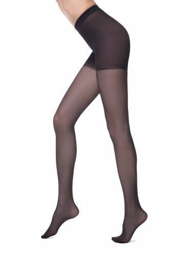 women's polyamide tights CONTROL 40 8С-76СП, размер 2, цвет nero