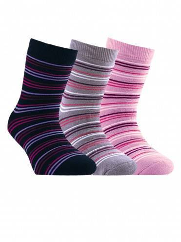 Children's cotton socks SOF-TIKI (terry) 7С-46СП, размер 22, цвет lilac