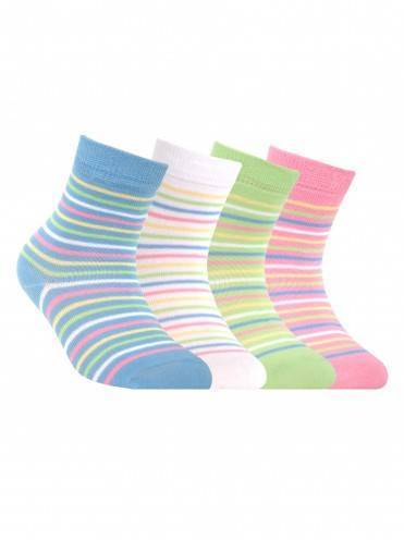 Children's cotton socks TIP-TOP 5С-11СП, размер 12, цвет light green