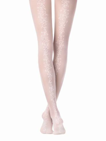 Women's polyamide tights GLORY 15С-54СП, размер 2, цвет panna