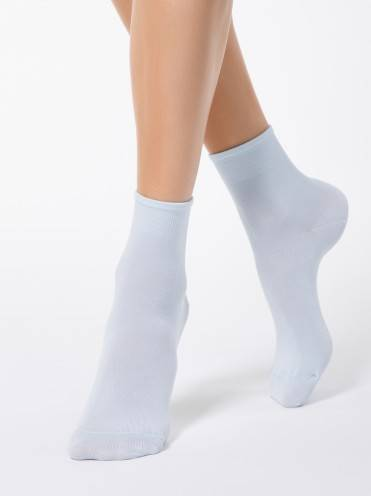 Women's viscose socks BAMBOO 13С-84СП, размер 23, цвет light blue