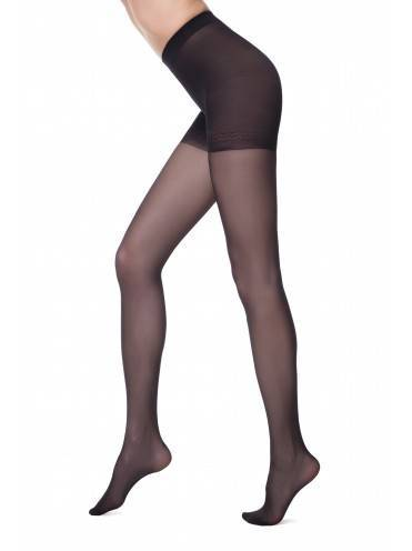 women's polyamide tights CONTROL 20 8С-75СП, размер 2, цвет nero