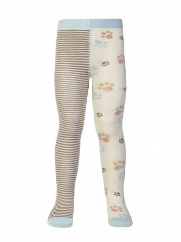 children's cotton tights TIP-TOP (cheerful legs) 14С-79СП, размер 80-86 (14),цвет cappuccino-grey