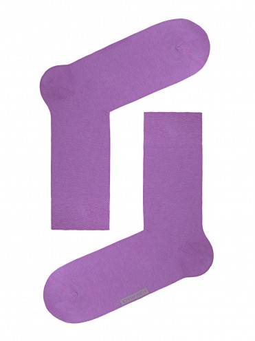 Men's socks HAPPY (coloured) 15С-23СП, размер 27, цвет lilac