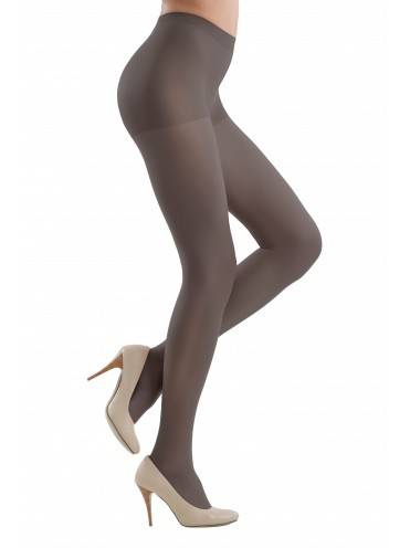 Women's polyamide tights NUANCE 40 8С-37СП, размер 2, цвет grafit