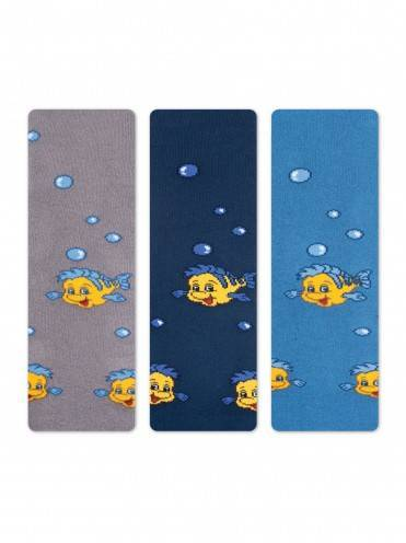 children's cotton tights SOF-TIKI (terry inside) 7С-38СП, размер 80-86 (14), цвет blue