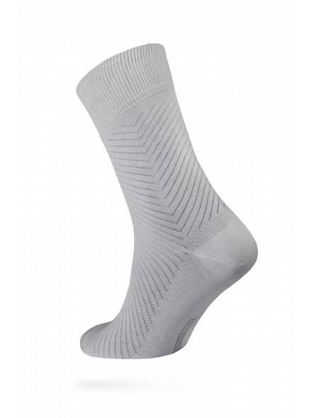 men's socks diwari CLASSIC COOL EFFECT 7С-23СП, размер 140-146, цвет grey