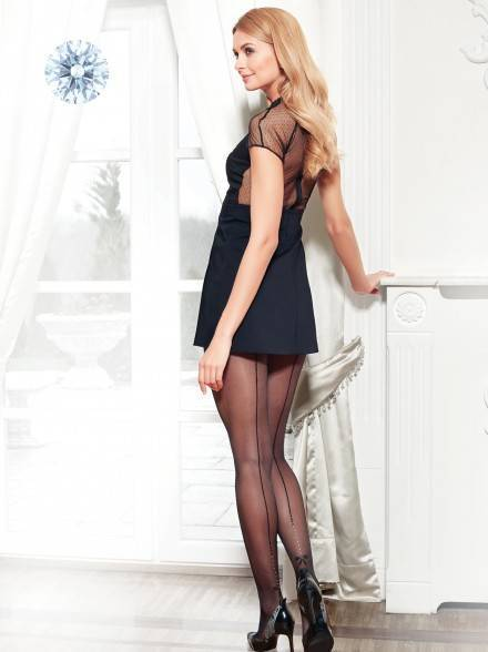 women's polyamide tights EVENT 13С-15СП, размер 2, цвет nero