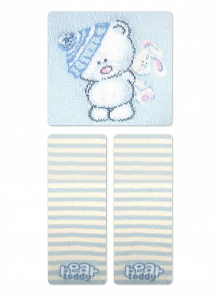 children's cotton tights TIP-TOP 4С-01СП, размер 62-74 (12), цвет light blue