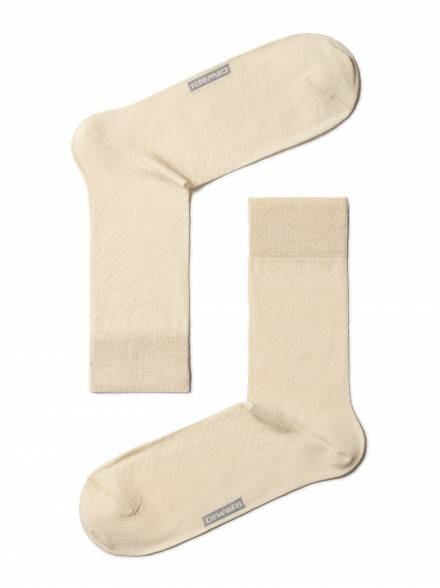 men's socks diwari CLASSIC COOL EFFECT 7С-23СП, размер 140-146, цвет beige