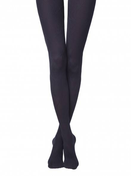 women's polyamide tights VERBENA 14С-99СП, размер 2, цвет marino