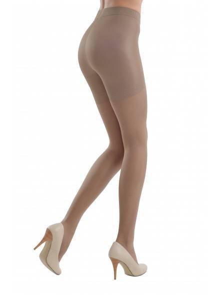 women's polyamide tights CONTROL 20 8С-75СП, размер 2, цвет mocca
