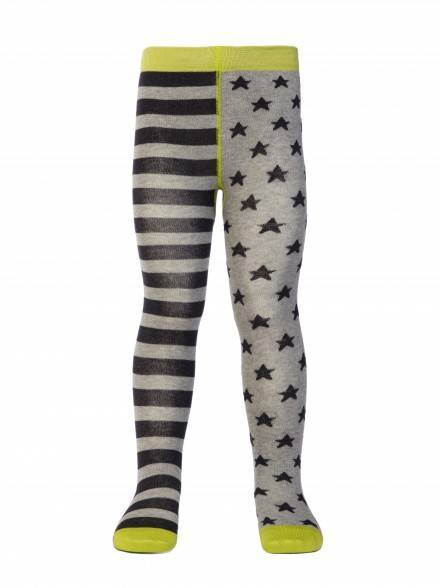 children's cotton tights TIP-TOP (cheerful legs) 14С-79СП, размер 80-86 (14), цвет grey