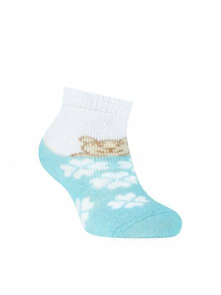 children's cotton socks TIP-TOP 5С-11СП, размер 8, цвет pale turquoise