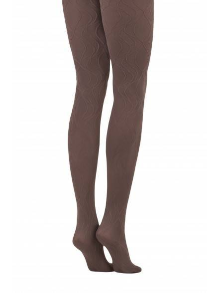 women's polyamide tights VERBENA 14С-99СП, размер 2, цвет cacao