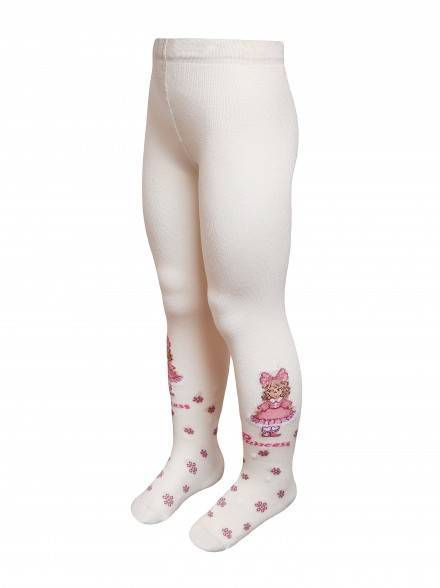children's cotton tights TIP-TOP 4С-02СП, размер 92-98 (14), цвет cappuccino