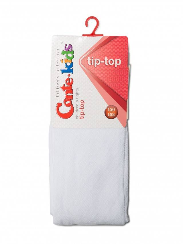 Children's tights CONTE-KIDS TIP-TOP, s.140-146 (22),365 white - 2