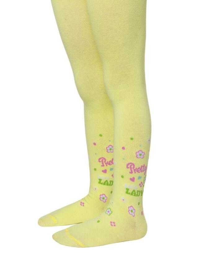 Children's tights CONTE-KIDS TIP-TOP, s.104-110 (16),403 lemon - 1