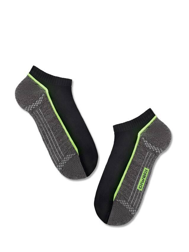 Men's socks DiWaRi ACTIVE, s. 40-41, 044 black-dark grey - 1