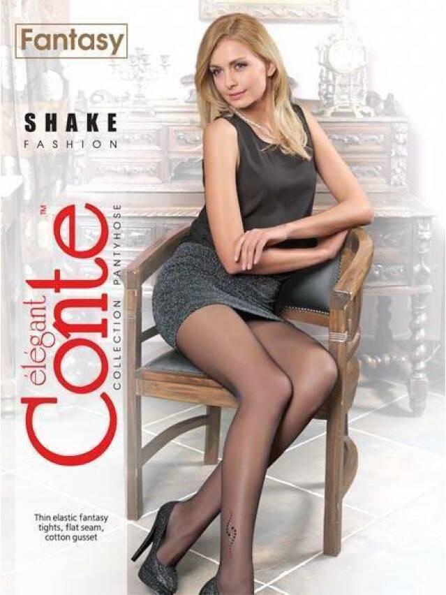 Women's tights CONTE ELEGANT SHAKE, s.2, mocca - 2