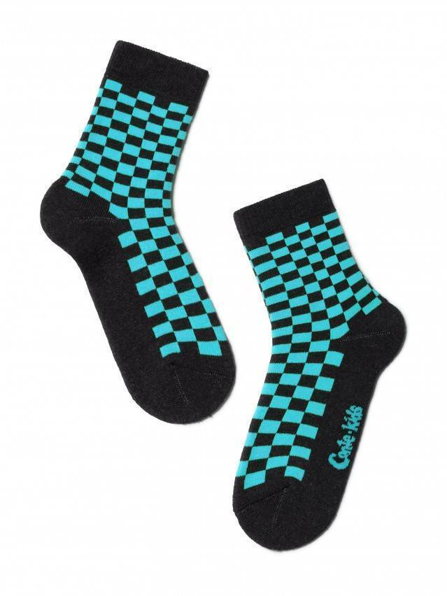 Children's socks CONTE-KIDS SOF-TIKI, s.16, 226 turquoise - 1