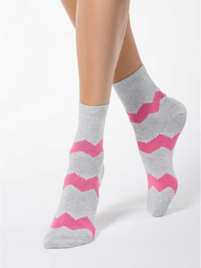 Women's socks CONTE ELEGANT CLASSIC, s.23, 065 grey-pink - 1