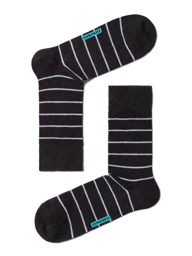 Men's socks DiWaRi HAPPY, s. 40-41, 046 black-grey - 1