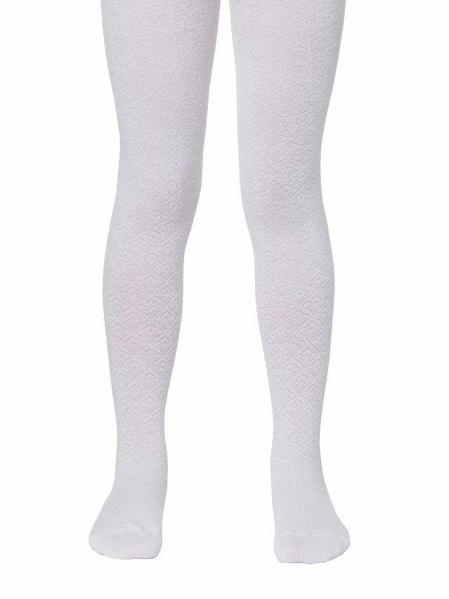 Children's tights CONTE-KIDS TIP-TOP, s.116-122 (18),363 white - 1