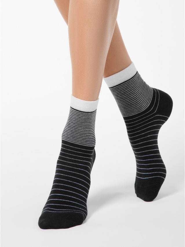 Women's socks CONTE ELEGANT CLASSIC, s.23, 058 black - 1