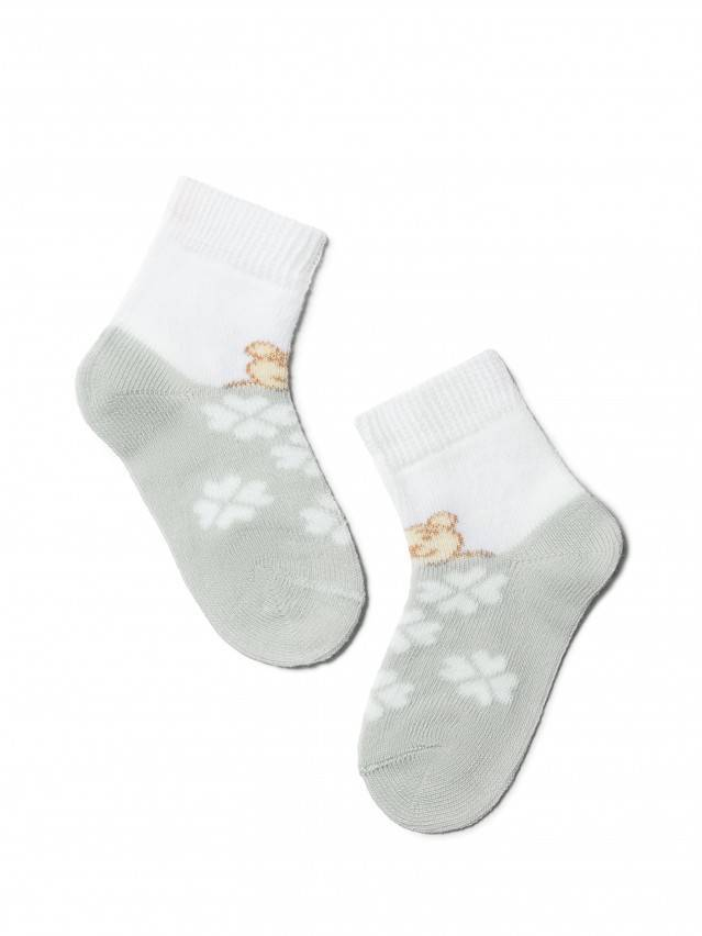 Children's socks CONTE-KIDS TIP-TOP, s.10, 219 grey - 1