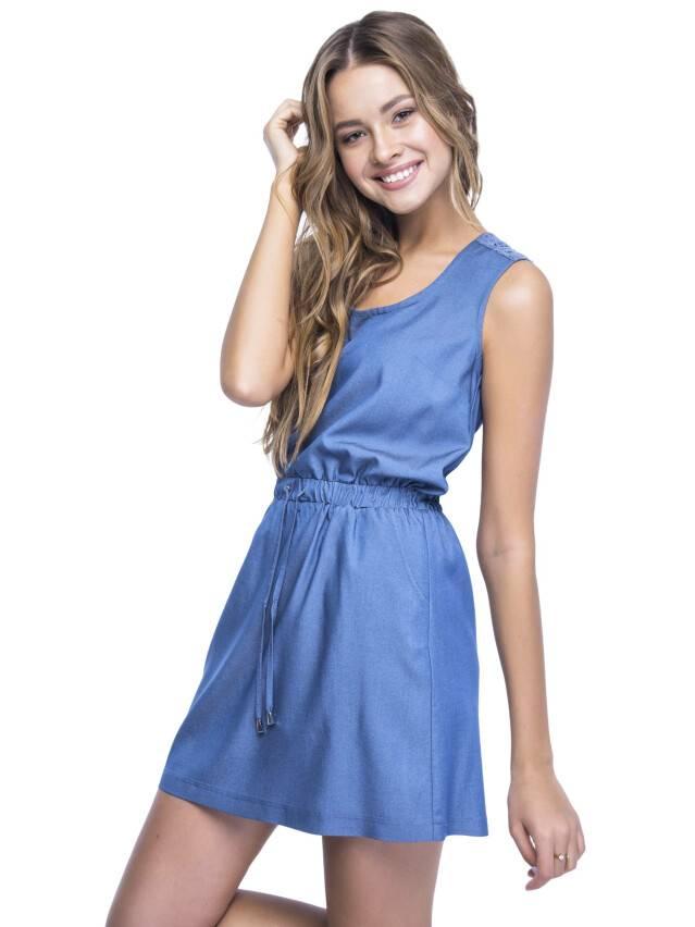Women's gown CONTE ELEGANT LPL 531, s.164-84-92, dark blue - 3