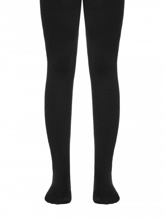 Fancy children's tights CONTE ELEGANT MAGGIE, s.104-110, nero - 1